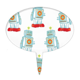 Soy un ejército del robot figura de tarta