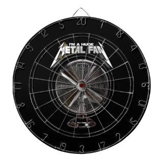 Soy un fan enorme del metal - fan del pedestal
