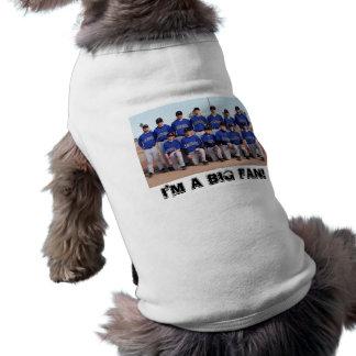 ¡Soy un fan grande Camisetas Mascota