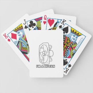 Soy un fan grande barajas de cartas