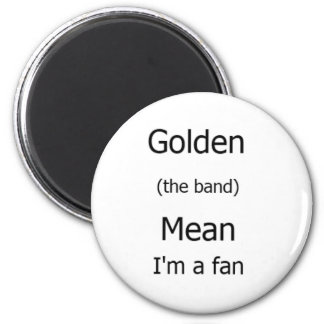 ¡Soy un fan! Imán Redondo 5 Cm