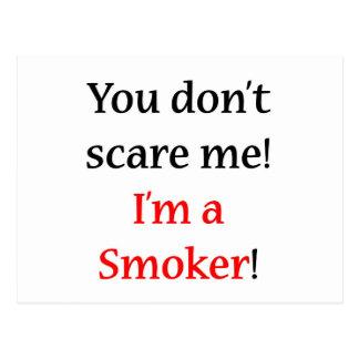 Soy un fumador postales