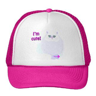 Soy un gato lindo gorras