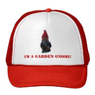 ¡Soy un gnomo del jardín! Gorra