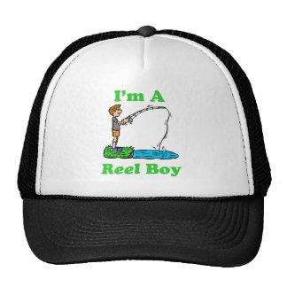 Soy un gorra del muchacho del carrete