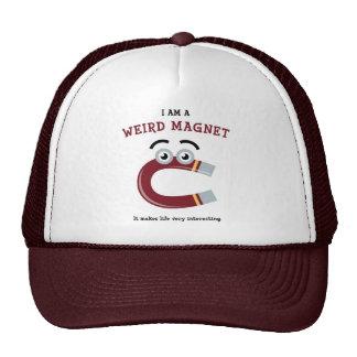 Soy un gorra extraño del camionero del imán