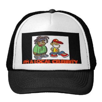Soy un gorra local de la celebridad