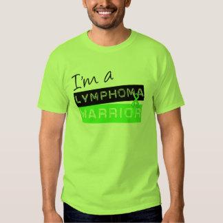 Soy un guerrero del linfoma camisas