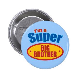 Soy un hermano mayor estupendo pin redondo de 2 pulgadas