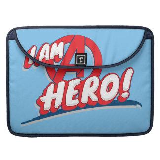 ¡Soy un héroe! Fundas Para Macbook Pro