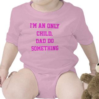 Soy un hijo único trajes de bebé