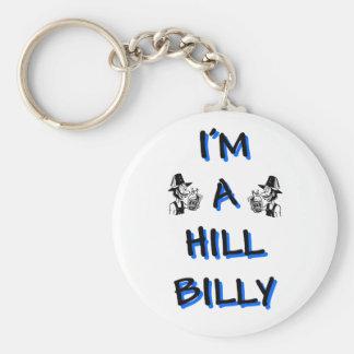 Soy un hillbilly llavero personalizado