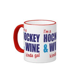 Soy un hockey y un vino un poco galón
