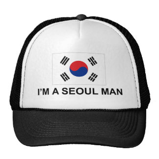 Soy un hombre de Seul Gorras De Camionero