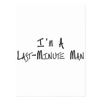 Soy un hombre de última hora postales