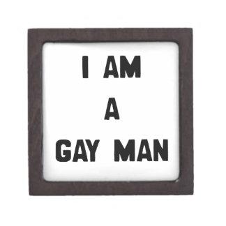 SOY UN HOMBRE GAY CAJAS DE REGALO DE CALIDAD