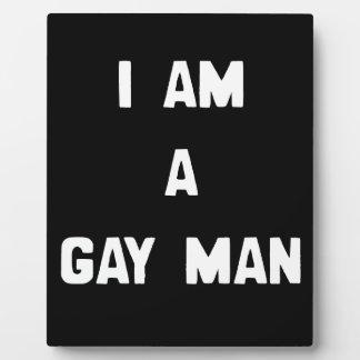 SOY UN HOMBRE GAY PLACAS DE MADERA