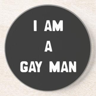 SOY UN HOMBRE GAY POSAVASOS CERVEZA