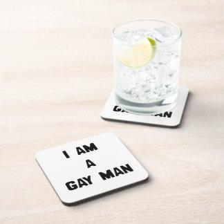 SOY UN HOMBRE GAY POSAVASOS DE BEBIDA