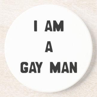 SOY UN HOMBRE GAY POSAVASOS DISEÑO