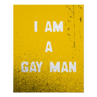 SOY UN HOMBRE GAY POSTER
