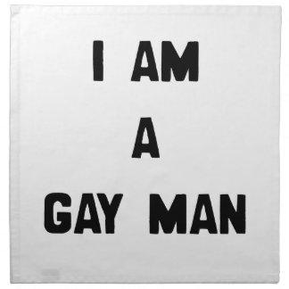 SOY UN HOMBRE GAY SERVILLETAS DE PAPEL