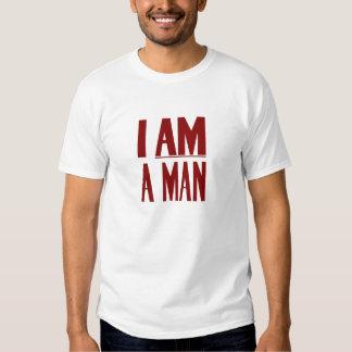 Soy un hombre -- Las derechas civiles Remera