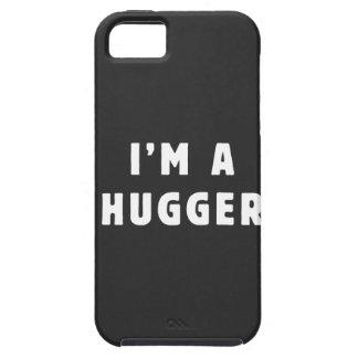 Soy un hugger iPhone 5 carcasas