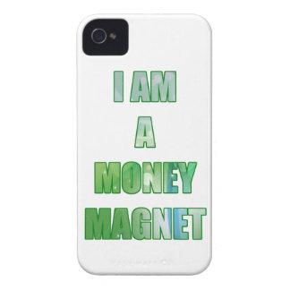 Soy un imán del dinero Case-Mate iPhone 4 fundas