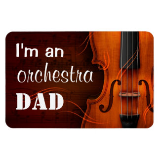 Soy un imán del papá de la orquesta