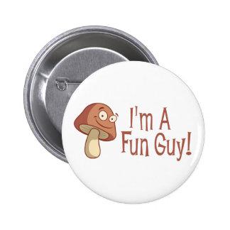 ¡Soy un individuo de la diversión! Pin Redondo De 2 Pulgadas