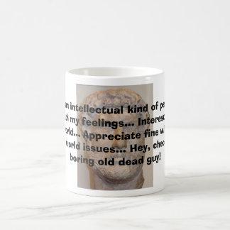 Soy un intelectual ..... tazas