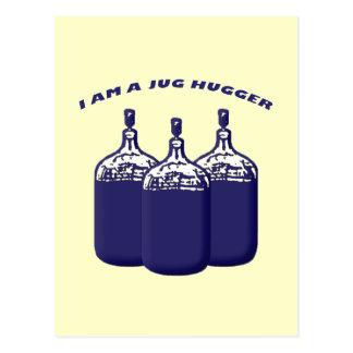Soy un jarro Hugger Tarjetas Postales