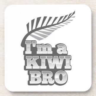 Soy un KIWI Nueva Zelanda Posavasos De Bebida