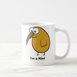 Soy un kiwi taza de café