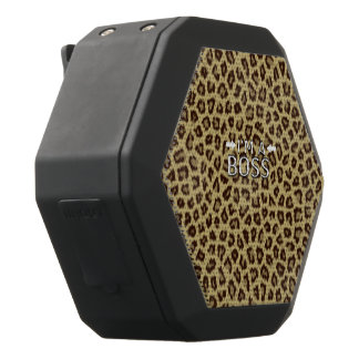 Soy un leopardo de Boss Altavoces Bluetooth Negros Boombot REX