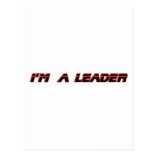 Soy un líder los regalos de Zazzle del MUSEO Postal