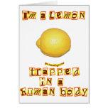Soy un limón tarjeton