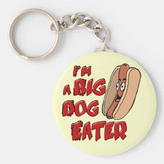 Soy un llavero grande del comedor del perro