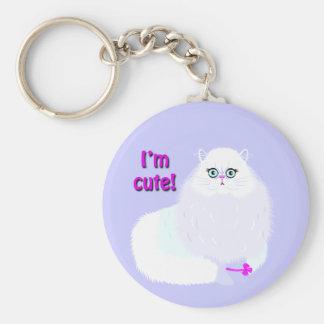 Soy un llavero lindo del gato