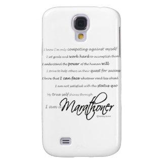 Soy un Marathoner Funda Para Samsung Galaxy S4