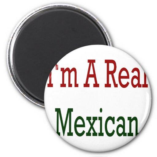Soy un mexicano real imán