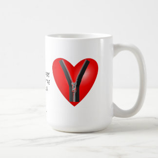 Soy un miembro auténtico del club de la cremallera taza de café