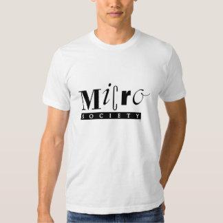 Soy un miembro de una camiseta micro de la familia playeras
