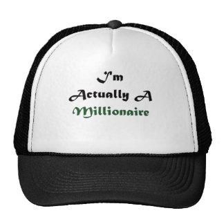 Soy un millonario gorras
