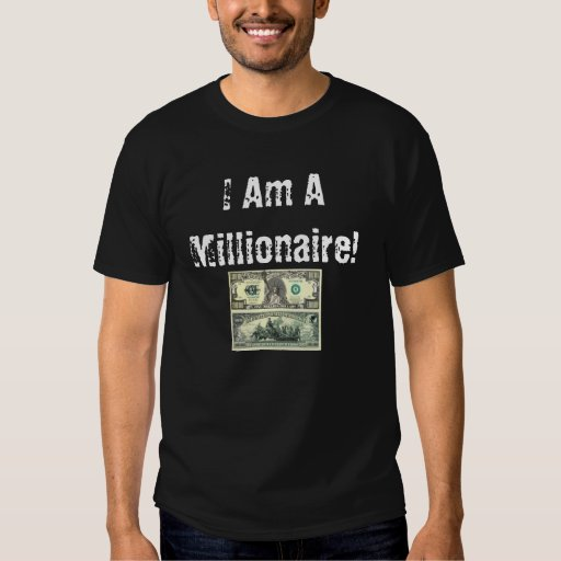 ¡Soy un millonario! Polera
