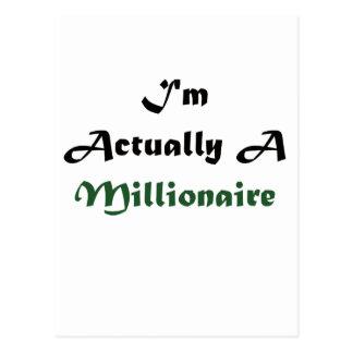 Soy un millonario postal