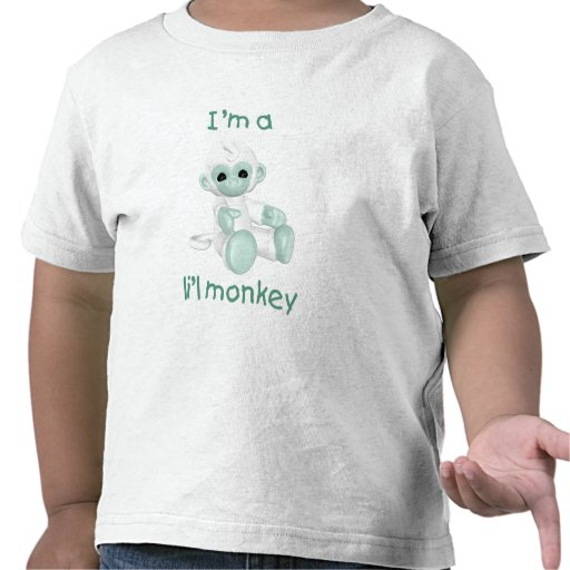 Soy un mono del l'il (verde claro) camisetas