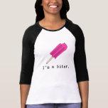 Soy un mordedor con el Popsicle rosado Camiseta