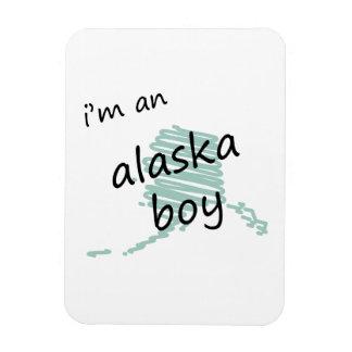 Soy un muchacho de Alaska Imán Flexible